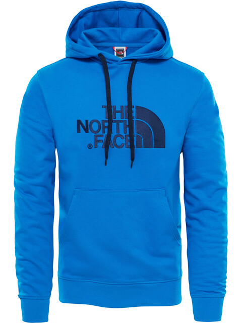 The North Face M's Light Drew Peak Pullover Hoodie Bomber Blue